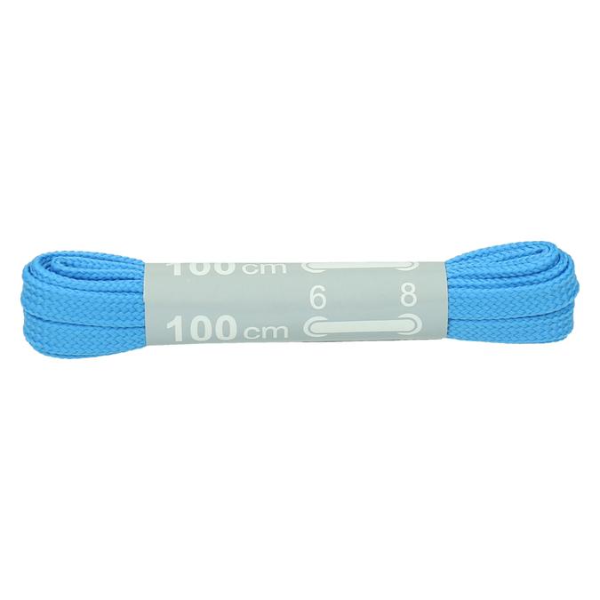 Colour laces bata, blue , 999-9466 - 13