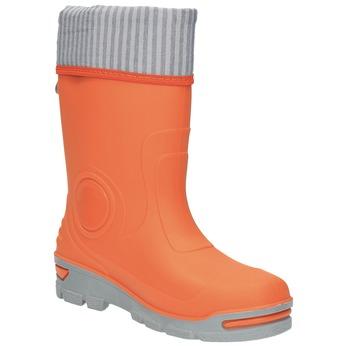 Children´s orange gumboots mini-b, orange, 292-8200 - 13