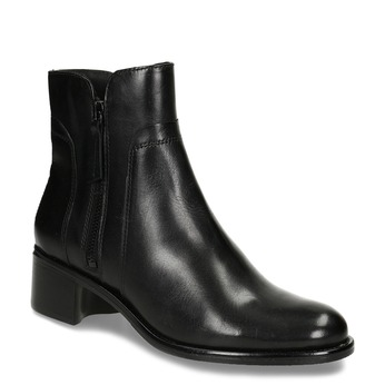 Ladies' ankle shoes bata, black , 694-6600 - 13
