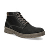Men's leather winter boots weinbrenner, black , 896-6107 - 13