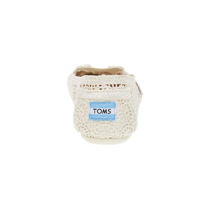 Lace slip-ons toms, beige , 519-1100 - 17