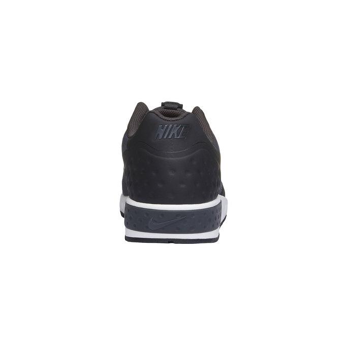 Men's sneakers in a sports style nike, black , 809-6328 - 17