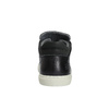 Men's casual sneakers bata, black , 844-6624 - 17