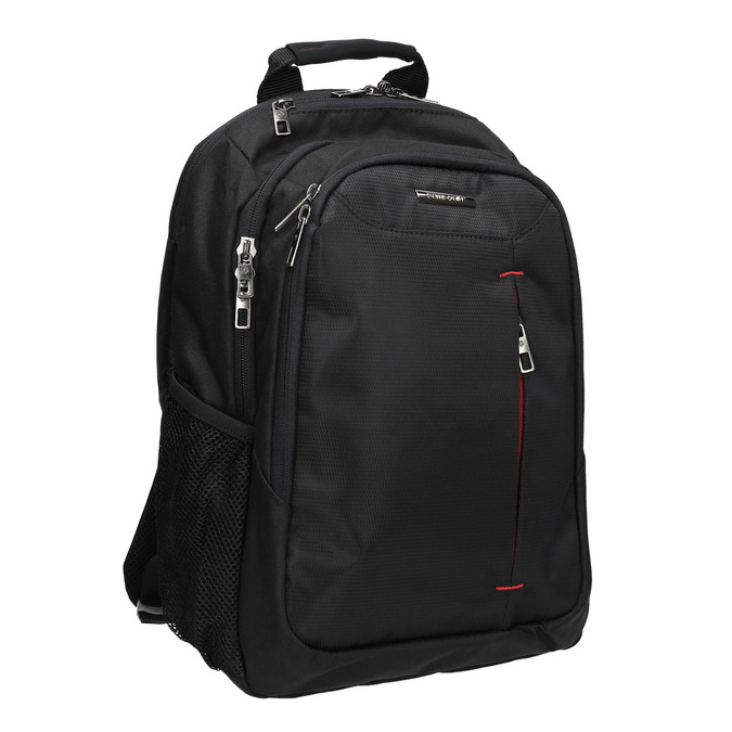 Quality laptop backpack, black , 969-2395 - 13