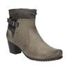 Ladies' ankle-cut shoes bata, gray , 696-2617 - 13