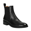 Black leather Chelsea Boots vagabond, black , 514-6008 - 13