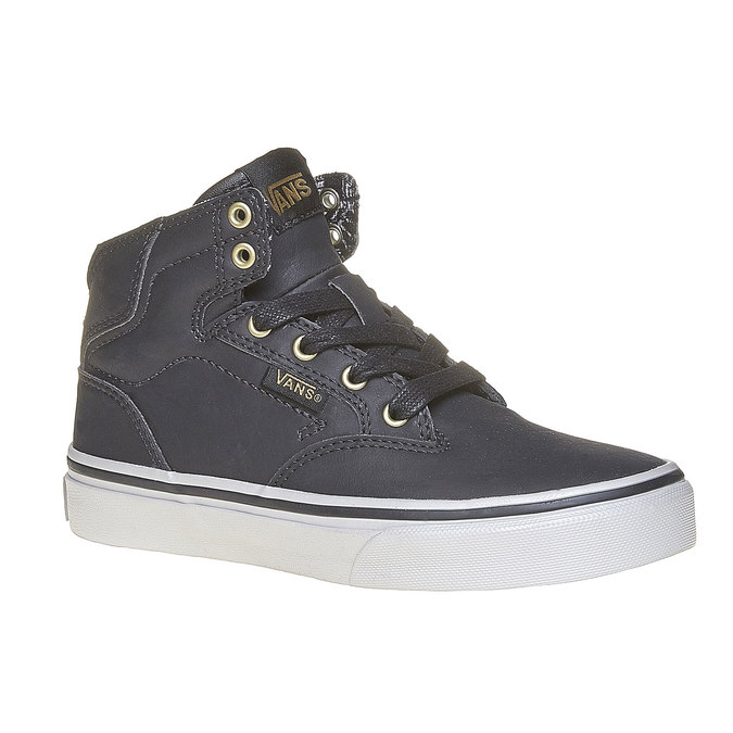 Children's ankle-cut sneakers vans, gray , 401-6310 - 13
