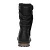 Girls' insulated high boots mini-b, black , 391-6653 - 17