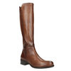 Ladies' leather Cossacks bata, brown , 594-3586 - 13