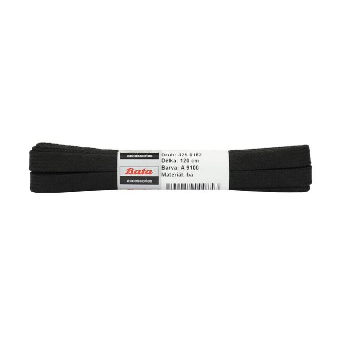 Black cotton laces, black , 901-6121 - 13