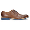 Leather shoes with a distinctive sole, brown , 824-3857 - 19