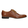 Brown leather shoes conhpol, brown , 824-3858 - 15