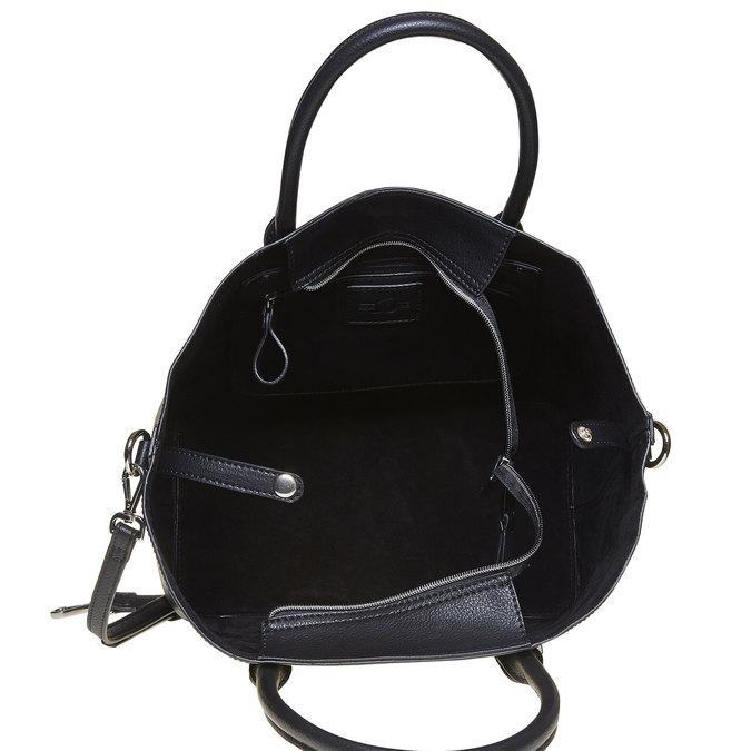 Elegant ladies' handbag bata, black , 961-6278 - 15