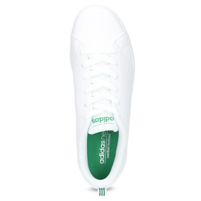 White children's sneakers adidas, white , 401-1233 - 17