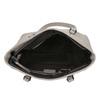 Ladies' handbag with perforated detail bata, gray , 961-2711 - 15