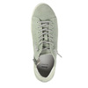 Ladies´ leather ankle-cut sneakers bata, green, 523-7602 - 19