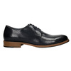 Leather shoes with a casual sole bata, blue , 826-9820 - 15