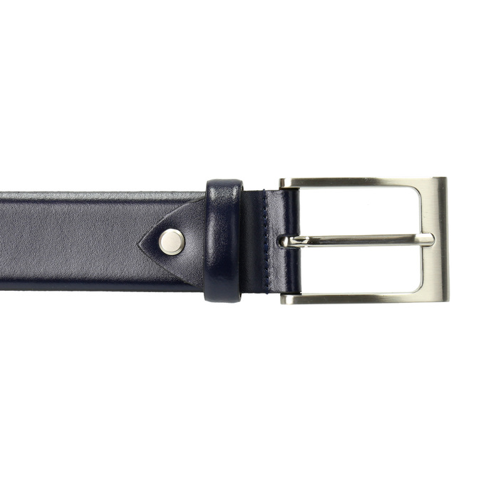 Men's belt bata, blue , 954-9819 - 26
