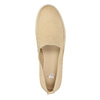 Light slip-ons for ladies bata, beige , 516-8601 - 19