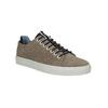Men's leather sneakers bata, brown , 843-8621 - 13