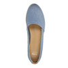 Ladies' shoes in the Slip-on style bata, blue , 516-9602 - 19
