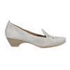 Ladies' leather H-width moccasins bata, gray , 523-2603 - 15