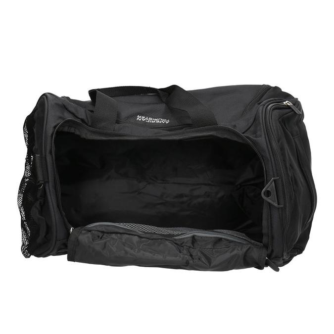 Black travel bag american-tourister, black , 969-6164 - 15