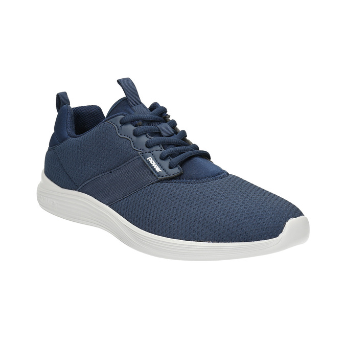 Men's blue sneakers power, blue , 809-9175 - 13