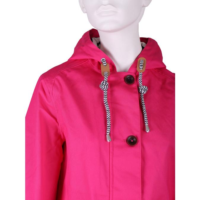 Ladies' pink hooded jacket joules, pink , 979-5010 - 16