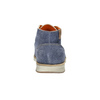 Brushed leather ankle boots weinbrenner, blue , 843-9625 - 17