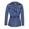 Ladies'  blue trenchcoat bata, blue , 979-9205 - 13