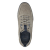 Casual leather sneakers bata, gray , 843-2627 - 19