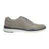 Casual leather sneakers bata, gray , 843-2627 - 15