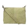 Ladies' leather crossbody handbag fredsbruder, green, 963-7031 - 26