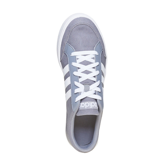 Men's grey sneakers adidas, gray , 889-2235 - 19
