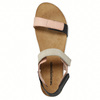 Ladies' leather sandals with Velcro fasteners weinbrenner, pink , 566-3630 - 26