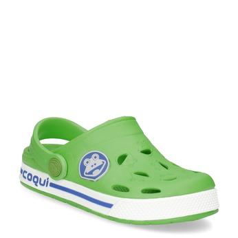 Children's green sandals coqui, green, 272-7603 - 13