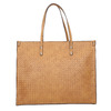 Handbag with a knit pattern marie-claire, brown , 961-3540 - 26