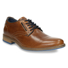 Casual leather shoes bata, brown , 826-3910 - 13