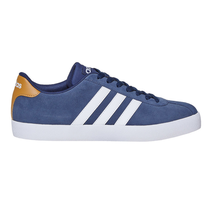 Men's leather sneakers adidas, blue , 803-9197 - 15