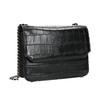 Ladies' handbag with a chain bata, black , 961-6753 - 13