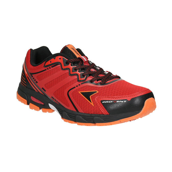 Men's athletic shoes power, red , 809-5223 - 13