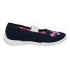 House shoes with flowers mini-b, blue , 379-9215 - 15