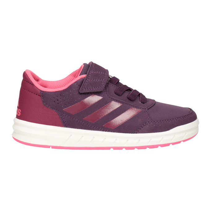 Children's Purple Sneakers adidas, violet , 301-5194 - 26