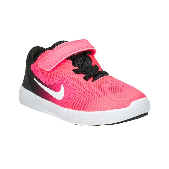Girls' Pink Sneakers nike, pink , 109-5132 - 13