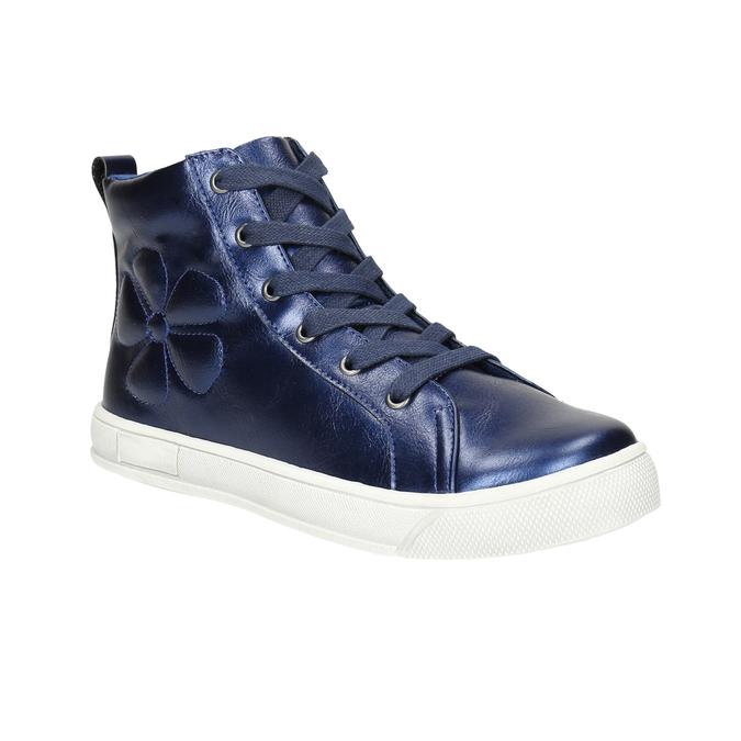 Children's blue ankle sneakers mini-b, blue , 321-9610 - 13