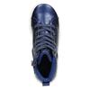 Children's blue ankle sneakers mini-b, blue , 321-9610 - 26