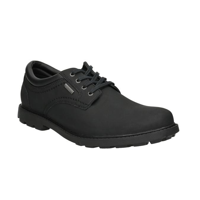 Men's leather shoes rockport, black , 826-6023 - 13