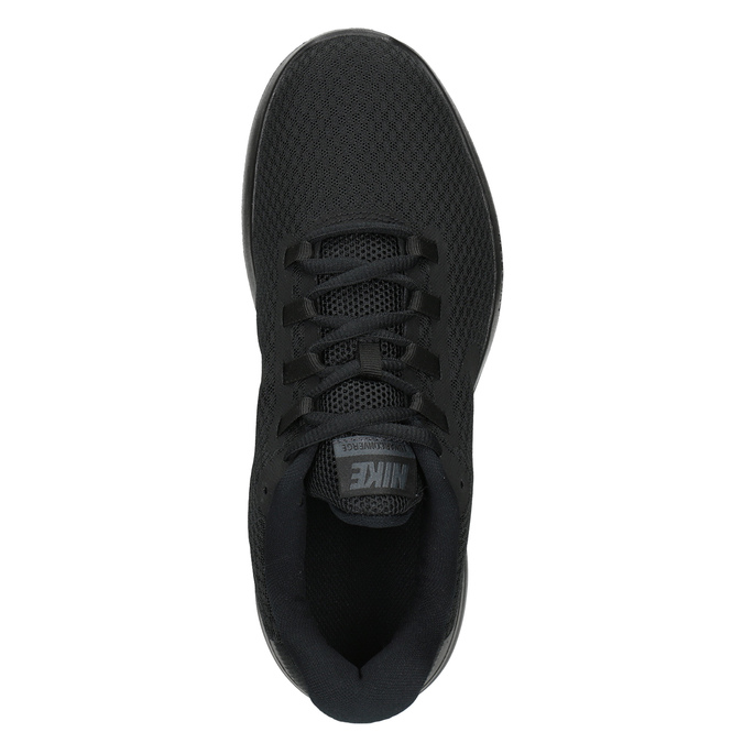 Men's Black Sneakers nike, black , 809-6290 - 15