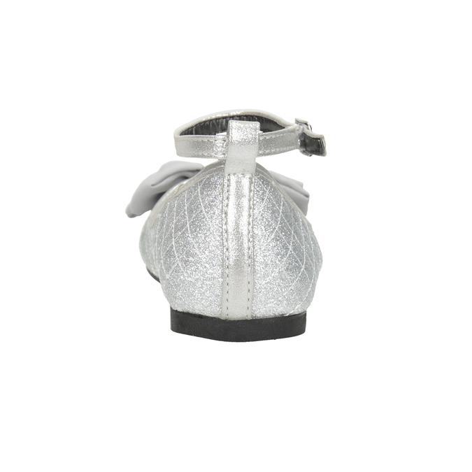 Girls' Silver Sandals mini-b, silver , 329-1286 - 16